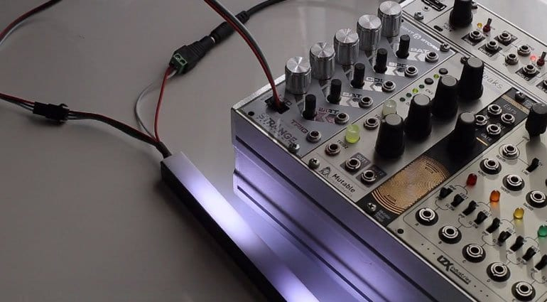 Lightstorm module and LED strip
