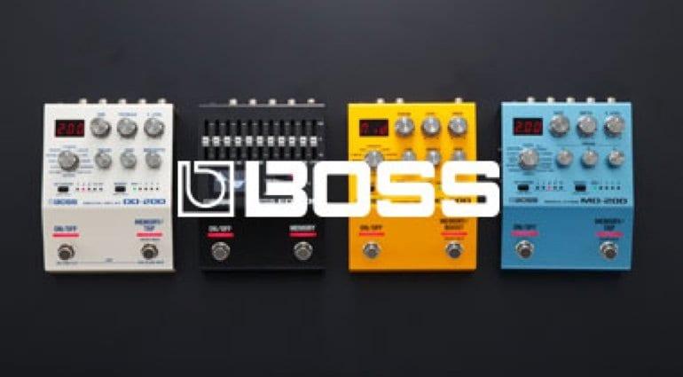 Pedales Boss Series 200