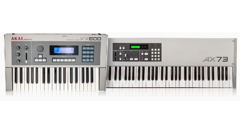 Akai AX74 and VX600