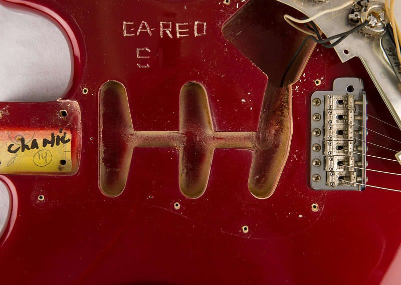 Candy Apple Red Strat de 1965