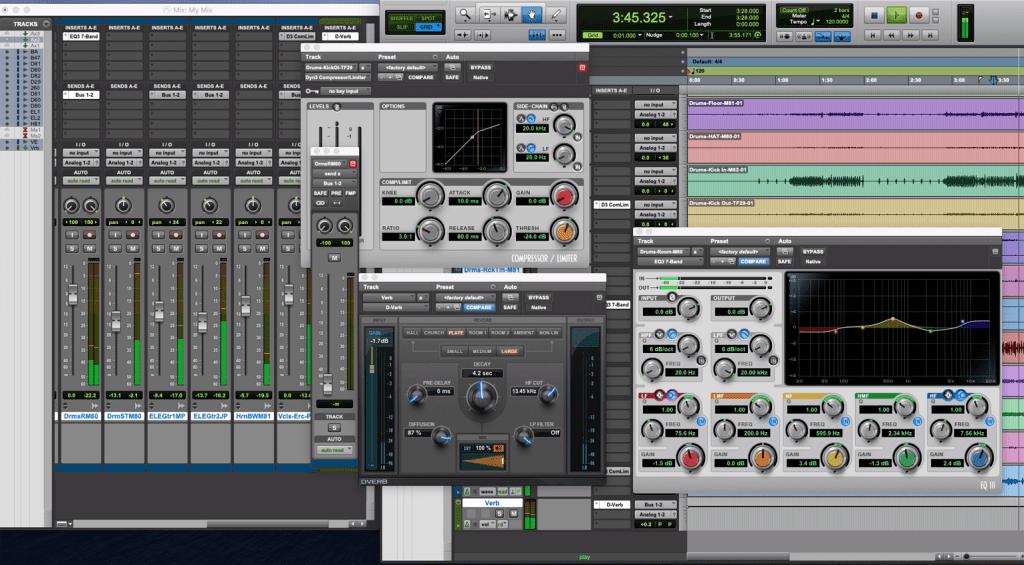 Mackie ProFXv3 series Avid Pro Tools First