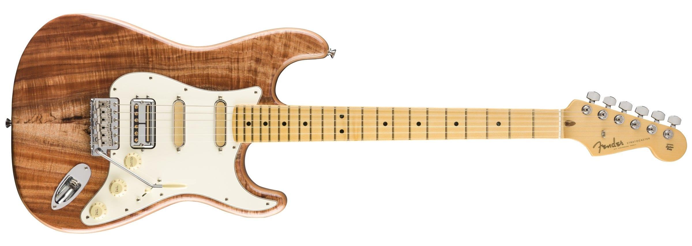 Fender Rarities Flame Koa Top Stratocaster