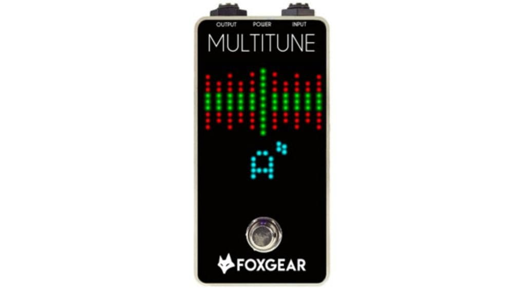 Afinador polifónico Multitune de FoxGear Pedals