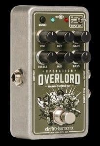 Pedal de drive EHX Nano Operation Overlord - ¡No sólo para guitarras!