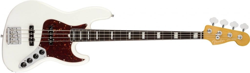 American Ultra Jazz Bass Arctic Pearl