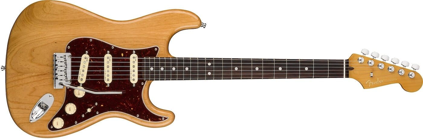 American Ultra Stratocaster Aged Natural