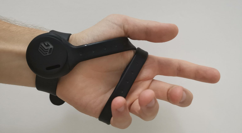GripBeats hand position