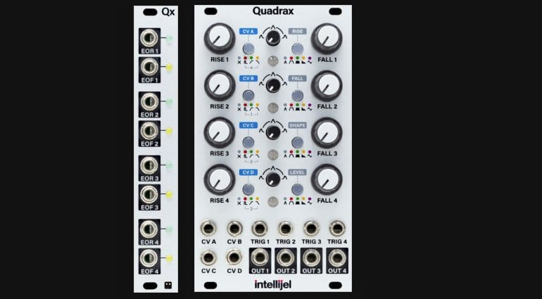 Intellijel Quadrax and Qx
