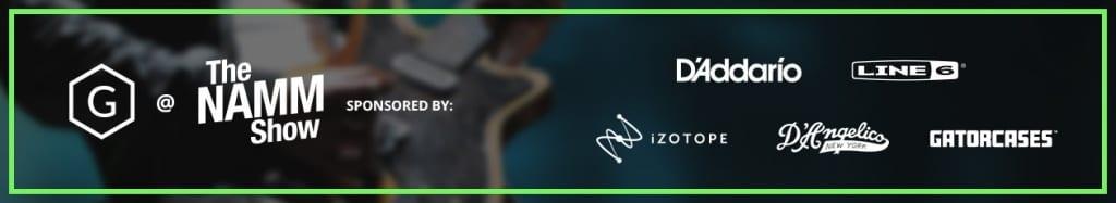 Gearnews NAMM 2020 Videos Sponsors Banner