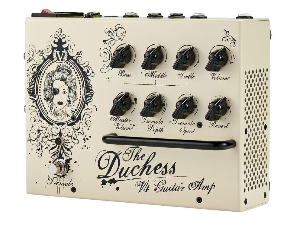 Amplificador en un pedal Victory V4 Duchess de 180 W Clase D