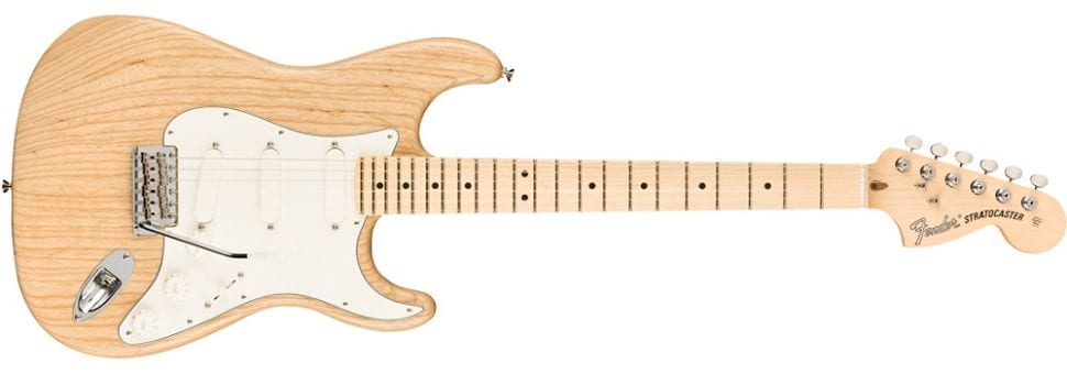 Fender Raw Ash American Performer Stratocaster en edición limitada