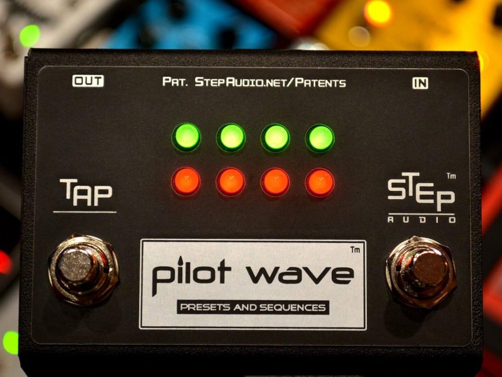 Secuenciador de pedales Step Audio Pilot Wave