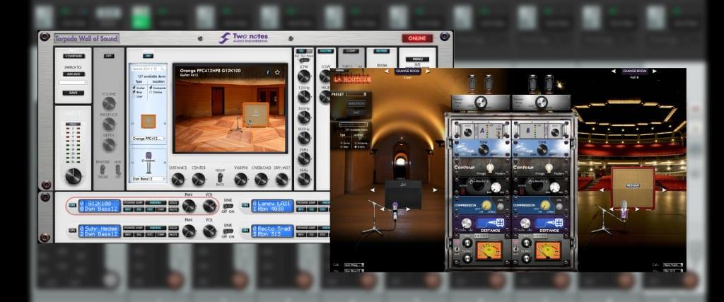 Pantallas virtuales gratuitas para Two notes Audio Engineering Torpedo Wall Of Sound