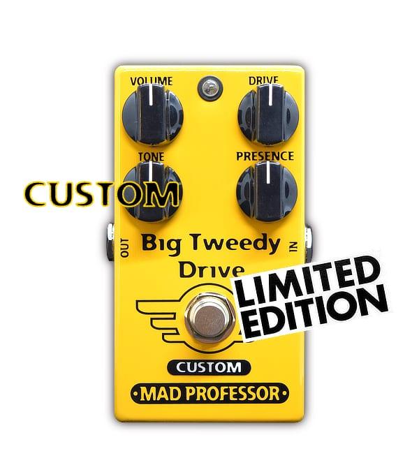 Mad Professor Big Tweedy Drive con Super Tweed mod