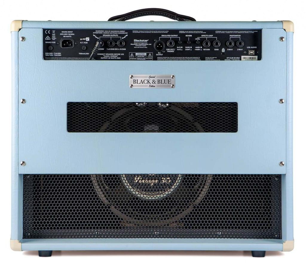 Amplificador combo de guitarra Blackstar HT 40 Club MkII Black and Blue