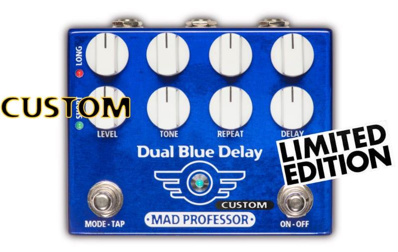 Mad Professor Dual Blue Delay con Deep mod