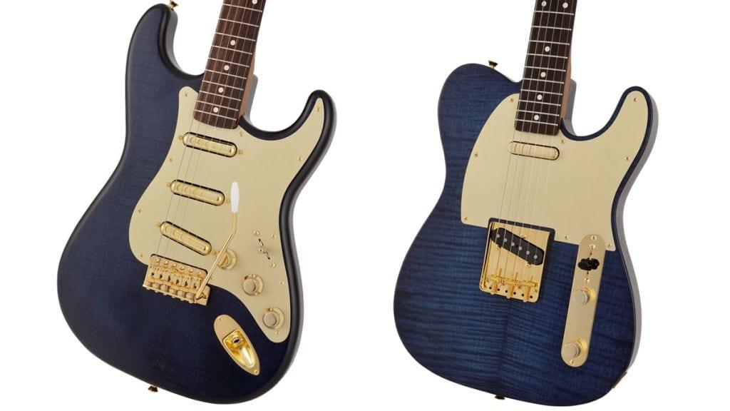 Fender Japan Indigo Dye Stratocaster y Telecaster