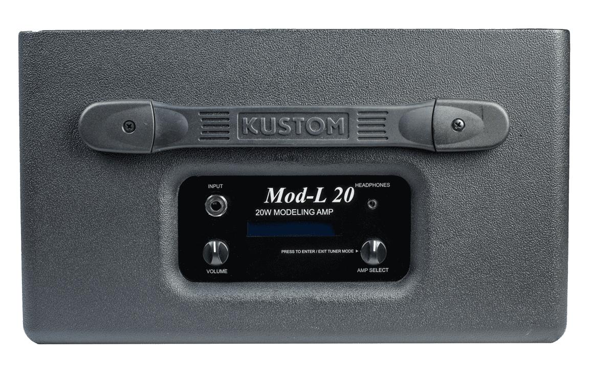 El panel de control de Kustom, que literalmente no tiene controles