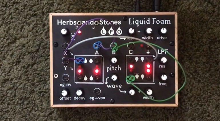 Herb and Stone Liquid Foam