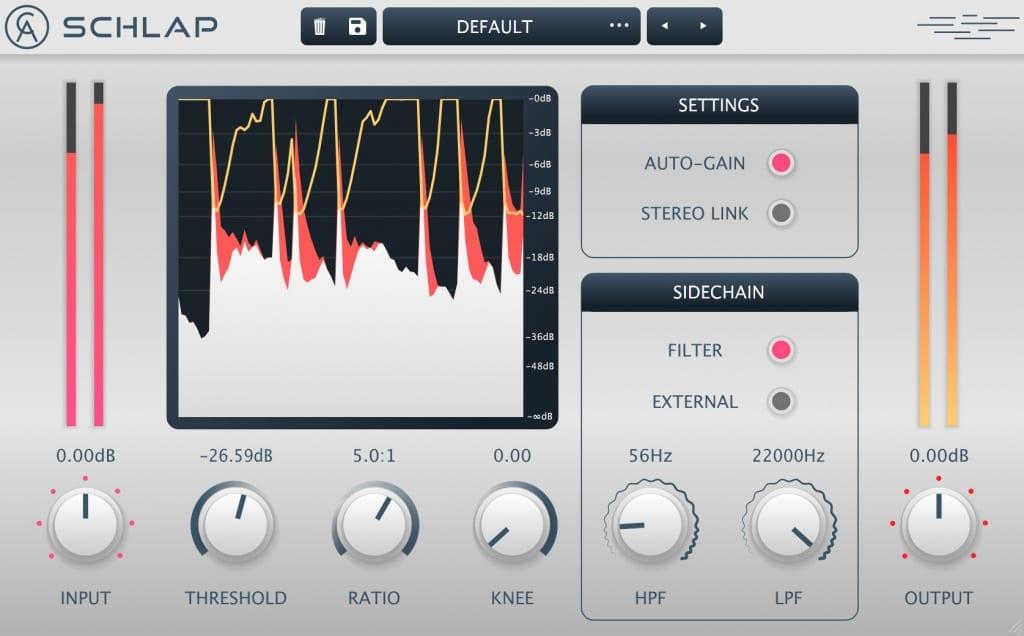 Caelum Audio Schlap GUI