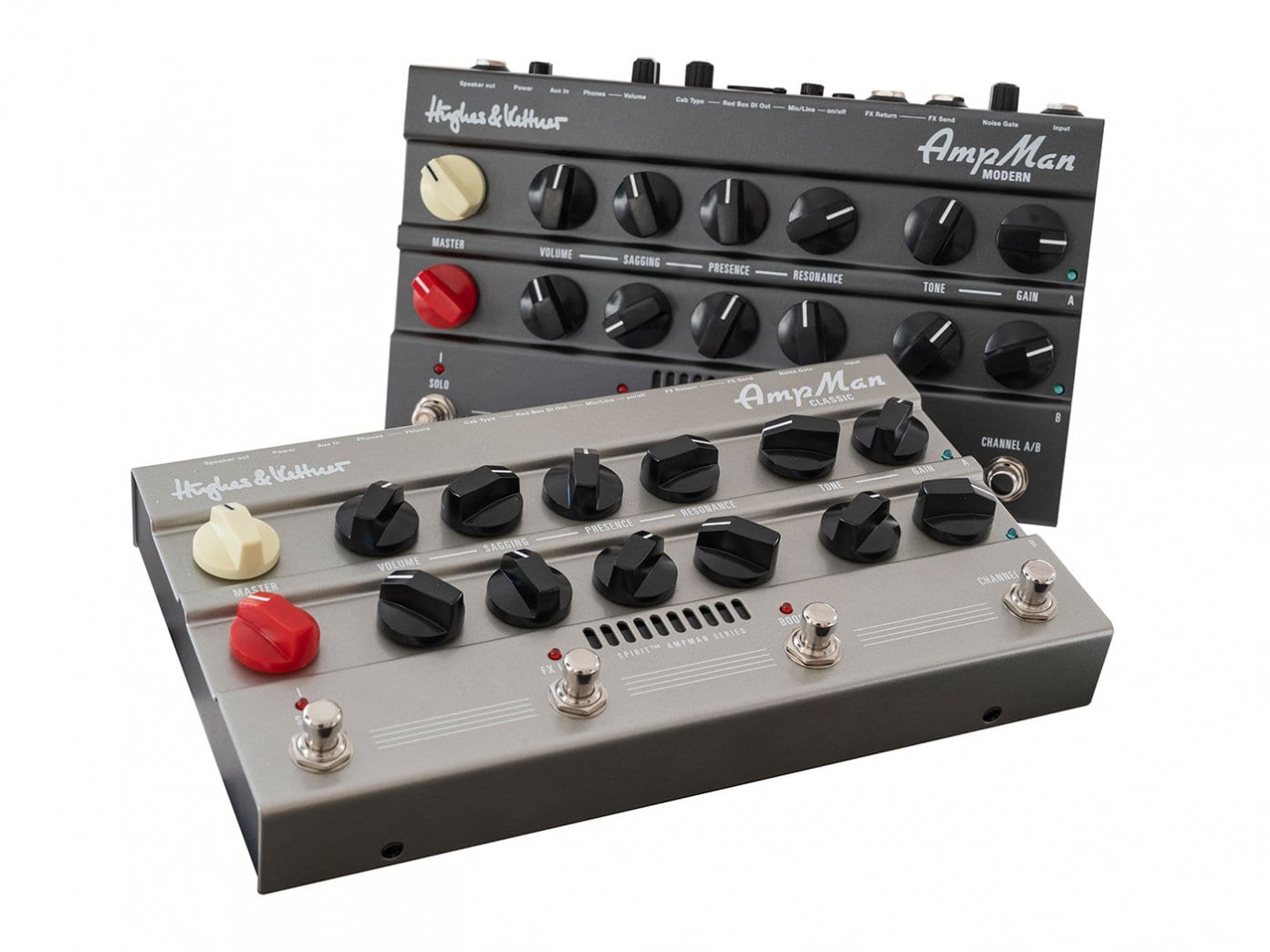 Hughes and Kettner AmpMan Classic y Modern