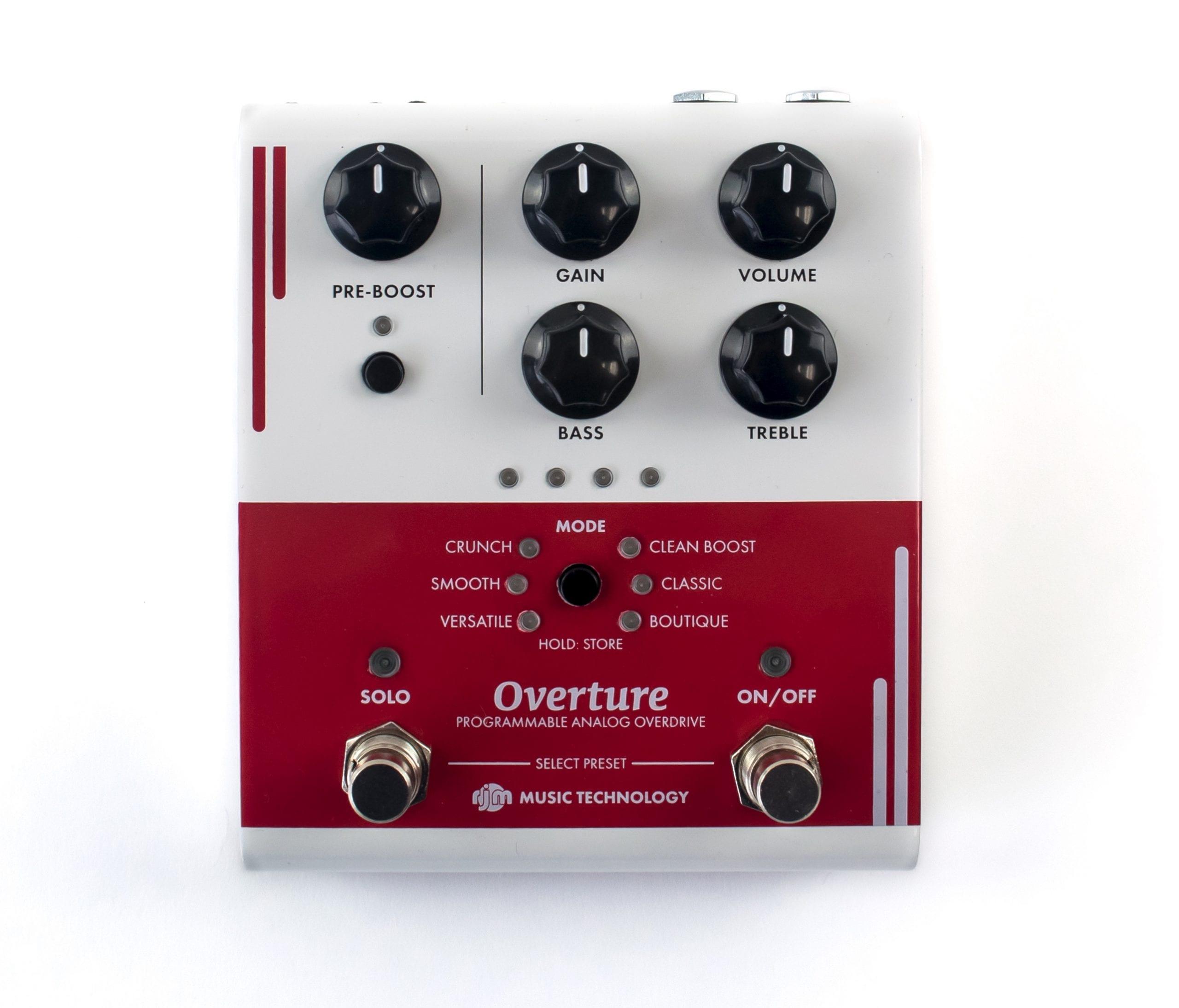 Peda de overdrive RJM Music Overture