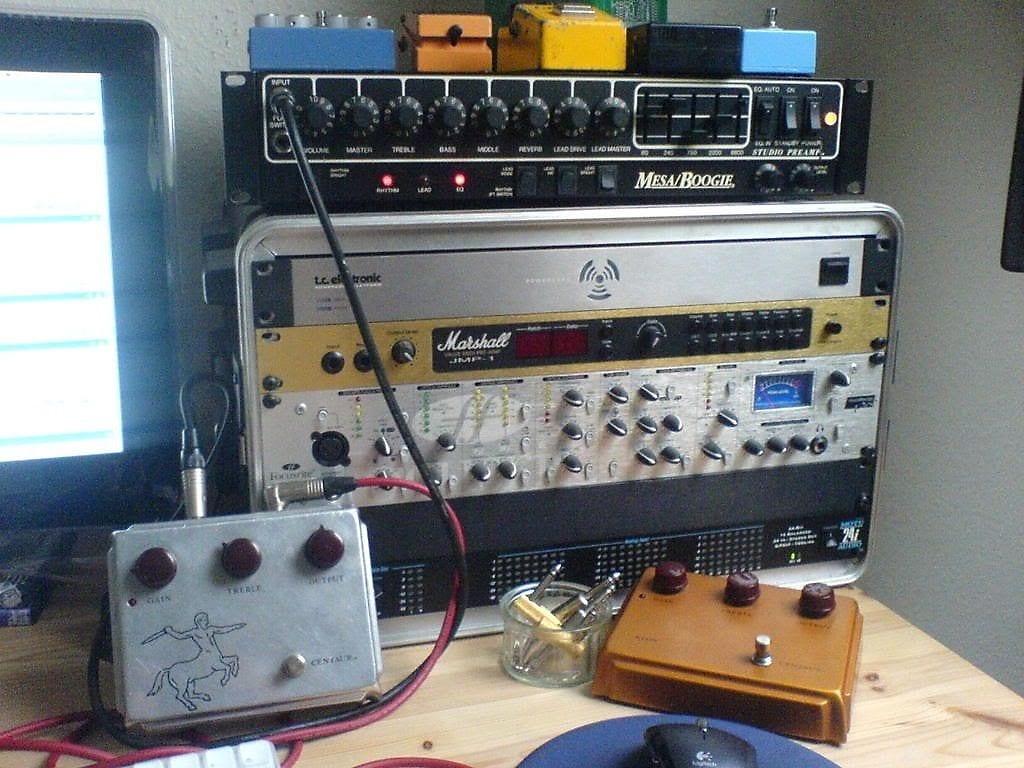 Los pedales Klon de Jef