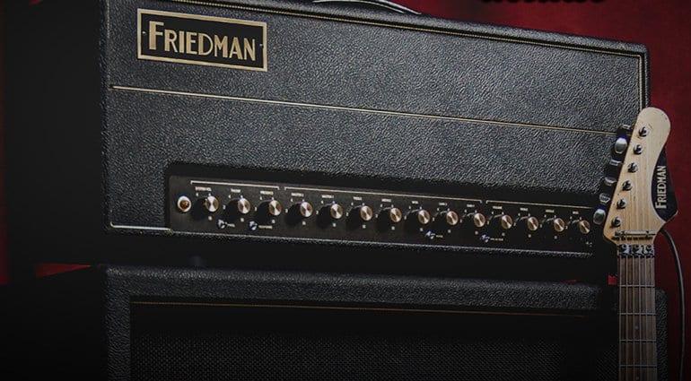 Cabezal Friedman BE 100 Deluxe de 100 W
