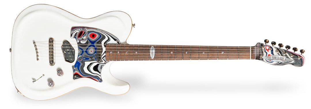 Guitarra Songbirds Foundation MotorCity Fordite