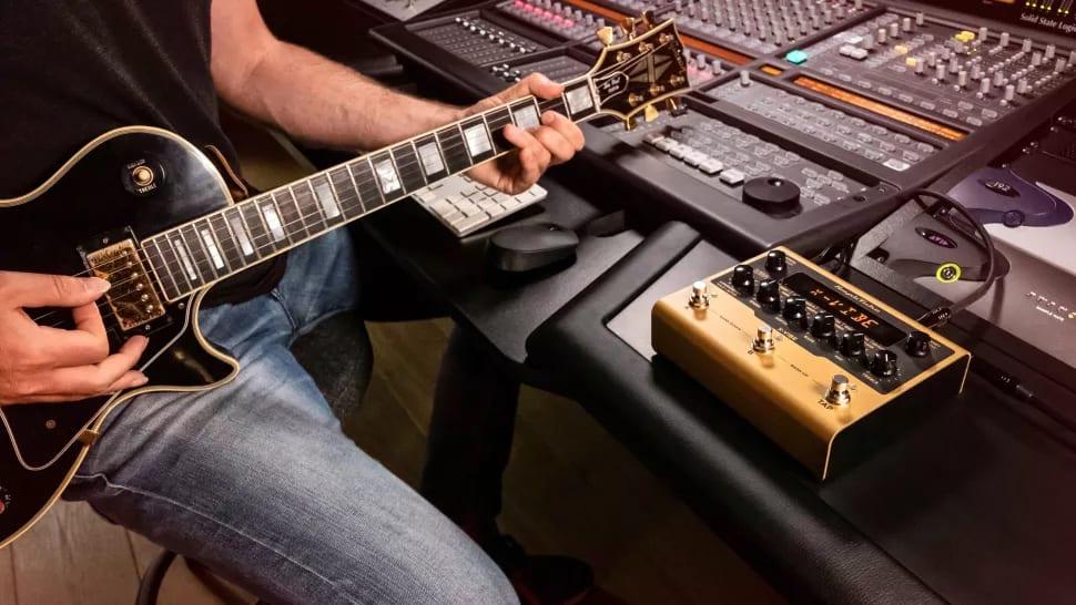 Amplitube X-GEAR en el estudio