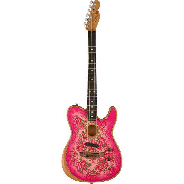 Fender Pink Paisley Acoustasonic Telecaster