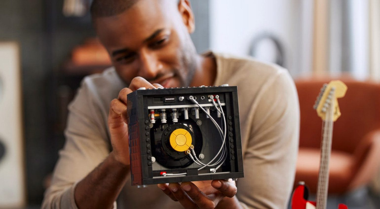 Amplificador Fender Princeton de LEGO